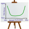 Do Bad Managers Take More Risks Than Good Managers?