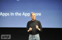"""Steve Jobs: """"Users shouldn't have to ever, ever, EVER think about that stuff."""""""